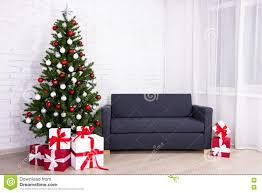 christmas interior decorated christmas tree in living room stock royalty free stock photo download christmas interior decorated christmas tree