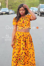 Top Model Hair Extensions by How To Style Ova Ankara Maxi Skirt And Crop Top O V A Boutiqueo