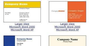 Business Card In Word Design And Print Business Cards At Home Blue Business Card For