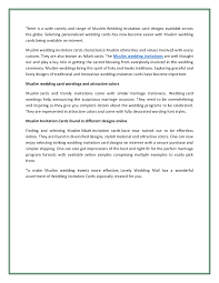 muslim wedding card increasing selection of muslim wedding cards in uk authorstream