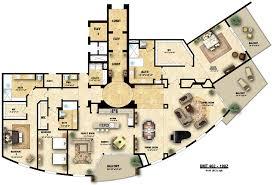 architectural floor plans floor plans architecture plan colored home living now 10806
