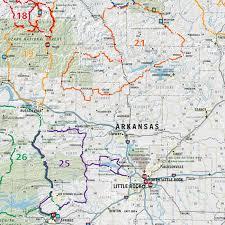 map of missouri mad maps usrt110 scenic road trips map of missouri and arkansas