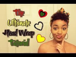 how to 12 quick u0026 easy headwrap turban styles twa u0026 short