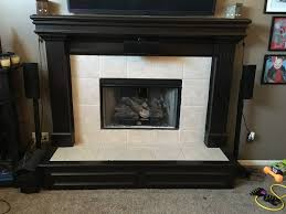 updating a tile fireplace with fall flavor creative faux panels