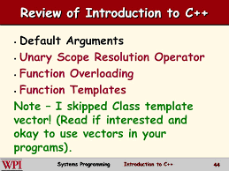 introduction to c systems programming ppt video online download
