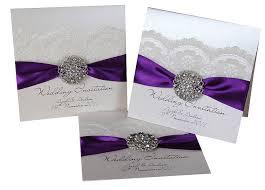 wedding invitations kits purple wedding invitation kits amulette jewelry