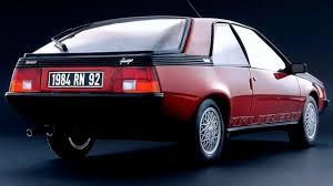 1982 renault fuego worst sports cars renault fuego