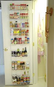 Spice Rack Pantry Door How To Organize Food Storage Containers Archives Living Rich On