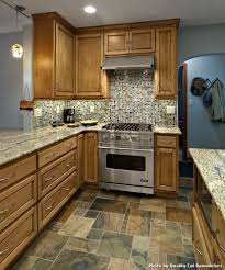 cheap kitchen floor tiles with contemporary kitchen and backsplash