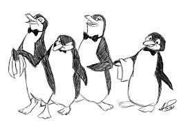 penguins from mary poppins sketch