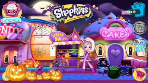 shopkins world welcome to shopville halloween update spooky