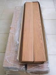 allen roth 4 96 in w x 50 8 in l russet oak laminate flooring