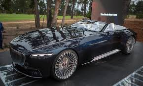 2017 vision electric mercedes maybach 6 cabriolet world debut at