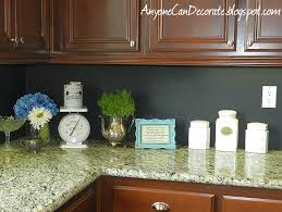 painting kitchen backsplash ideas anyone can decorate my 10 kitchen back splash chalkboard