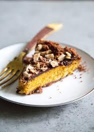 chocolate hazelnut pumpkin pie the little epicurean
