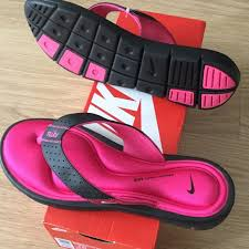 Nike Comfort Flip Flop 25 Off Nike Shoes New Women Comfort Thong Flip Flop Sz 10 Pink