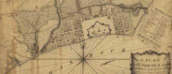 Pensacola Map British Rule Of Pensacola Began 254 Years Ago This Week The Pulse