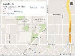 Seattle Google Maps by Google Maps Embed Api Frontendportal Frontendportal
