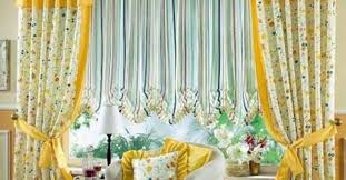 curtains great orange and green curtain fabric favored
