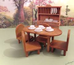 Country Dining Room Furniture Sets Calico Critters Country Dining Room Furniture Set Dining Room Decor