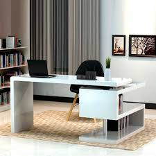 black modern desk furniture for modern office