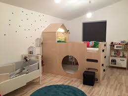 Ikea Schlafzimmer F Kinder Tolles Kinderbett Aus Ikea Kura Bett Ikea Hacks Pinterest