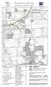 Michigan Township Map by The Ann Arbor Chronicle Dispute Over Superior Township Settlement