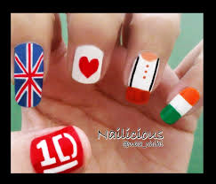 tutorial nail art one direction one direction nail art gallery