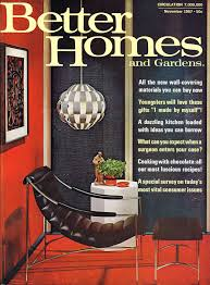 new homes and ideas magazine better homes and gardens magazine cover november 1967 50s 70s