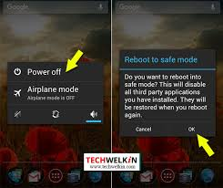 reboot android android safe mode restart phone or tablet and troubleshoot