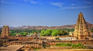 hampi is a unesco world heritage site located in the northern part