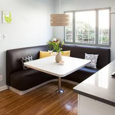 dining room modern kitchen table with wooden bench seating l