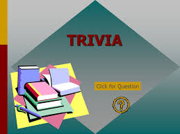using the trivia game template copy the powerpoint presentation to
