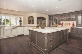 Repainted Kitchen Cabinets Kitchen Cool Two Tone Painted Kitchen Cabinets Design Decorating