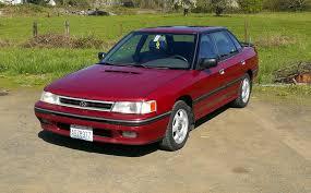 burgundy subaru legacy my new car 1991 subaru legacy turbo subaru