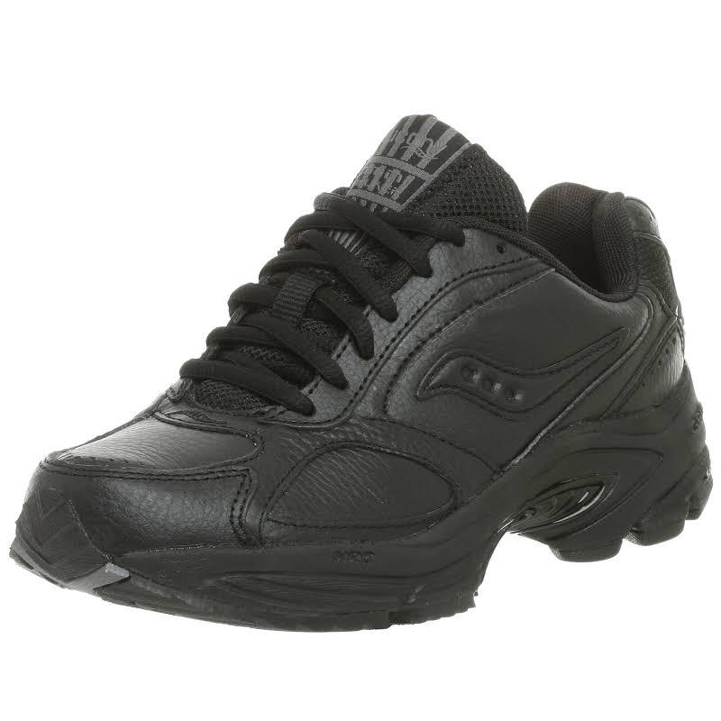Saucony Grid Omni Walker Black Walking Shoes