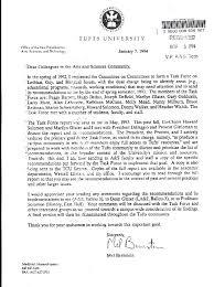 cover letter vice president mel bernstein jpg tufts student