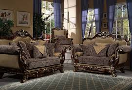 endearing microfiber living room sets pinto tobacco finish