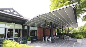 Pergola System by All Weather Retractable Roofs Pergolas Avolon Blind Systems
