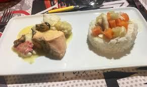 cuisine au safran blanquette de lotte au safran gallery of curry de lotte la crme de