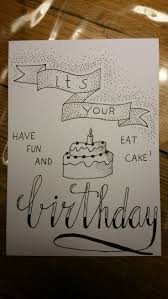 Doodle Birthday Card Best 25 Happy Birthday Typography Ideas On Pinterest Caligraphy