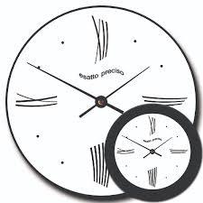 Art Wall Clock by Modern Wall Clocks From 12