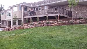 decks u0026 pergolas alpine landscaping