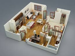 2 Bedroom Modern House Plans by Bedrooms Modern 2 Bedroom Apartment Floor Plans 2 Bedroom