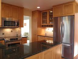 uba tuba granite kitchen contemporary with wood cabinets modern