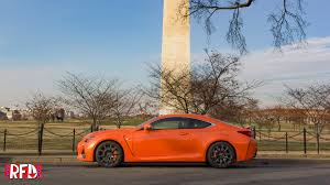 lexus on the park reviews review 2016 lexus rc f right foot down