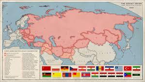 Ussr Map Alternative Cold War Soviet Empire 1960 By Kuusinen On Deviantart