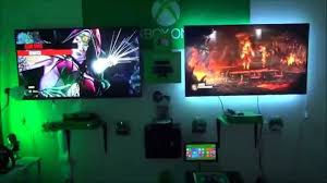 chic video gaming room decorating ideas with video 1800x1013