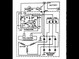 alternator wiring diagram youtube