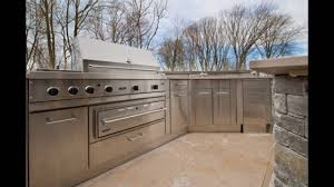 stainless steel doors for outdoor kitchen youtube